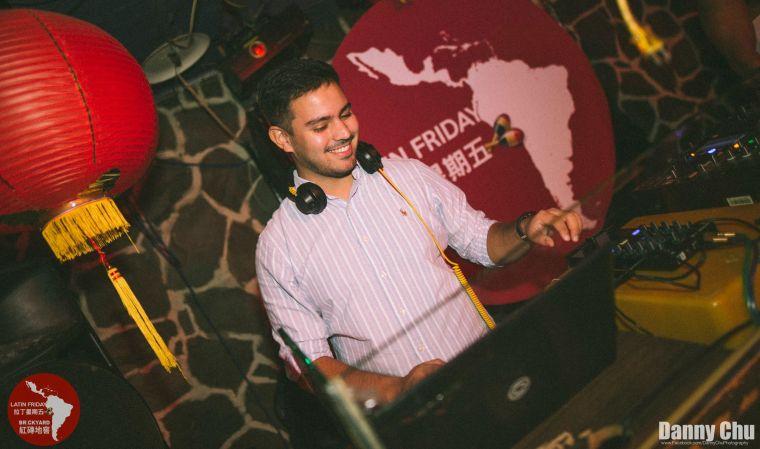 DJ Gaggo performing at the Kaohsiung Full Moon Party.